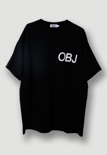 Object오브젝트 OBJ WORLD T-SHIRT (BLACK)