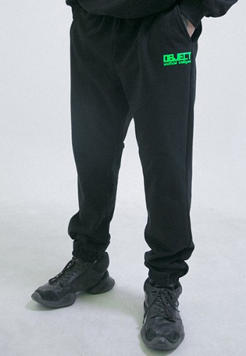 Object오브젝트 UNOFFICIAL INTELLIGENCE SWEATPANTS (BLACK)