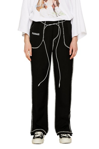 PIANARI피어나리 Inside Out Trouser (black)