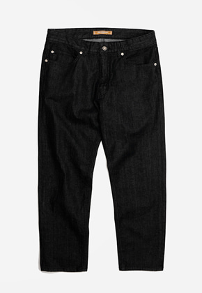 FRIZMWORKS프리즘웍스 OG Tapered ankle denim pants _ black