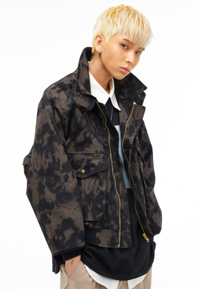 The Greatest더 그레이티스트 GT19SS11 LAYERED JACKET BLACK