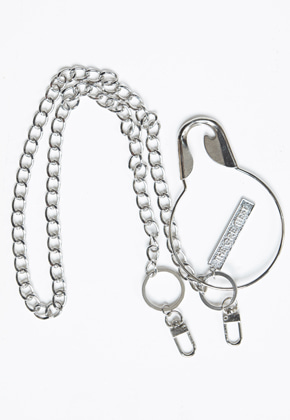 The Greatest더 그레이티스트 GT19SS14 O SAFETY PIN CHAIN