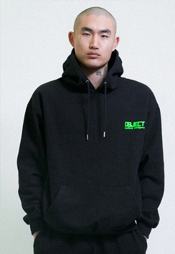 Object오브젝트 UNOFFICIAL INTELLIGENCE HOODIE (BLACK)