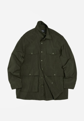 FRIZMWORKS프리즘웍스 Nylon shirt jacket _ olive
