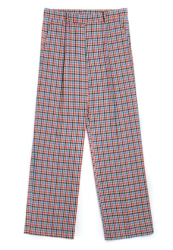 Evan Laforet에반라포레 [UNISEX] EVAN CHECK PANTS - BLACK&BEIGE