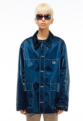 The Greatest더 그레이티스트 GT19SS10 COACH JACKET BLUE