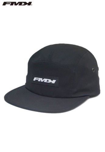 FROMMARK프롬마크 FMK LOGO CAMP CAP  BLACK