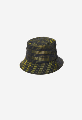 Anderssonbell앤더슨벨 UNISEX ANDERSSON CITY BUCKET HAT aaa207u YELLOW CHECK