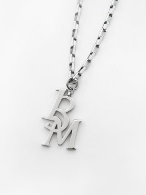 13Month써틴먼스 13M LOGO CHAIN NECKLACE (SILVER)