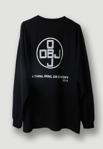 Object오브젝트 OBJ CONCEPT LONG SLEEVE (BLACK)