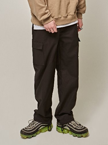 Yan13얀써틴 TRAINING CARGO PANTS_BLACK