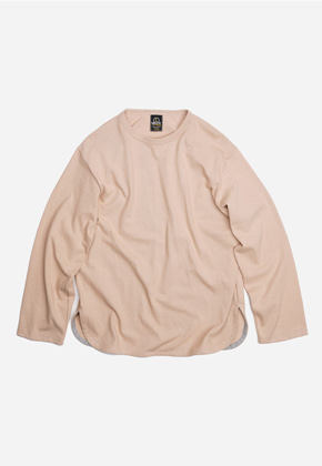 FRIZMWORKS프리즘웍스 Active long sleeve tee _ beige