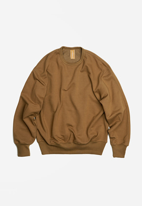 FRIZMWORKS프리즘웍스 OG Heavyweight sweatshirt _ camel