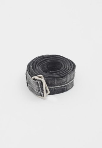 Gakuro가쿠로 Denim Belt (Black)