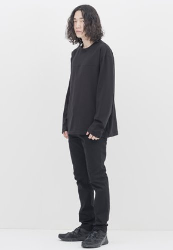 Gakuro가쿠로 Reversible L/S T-shirt (Black)