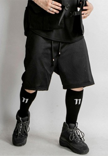 OMERTA오메르타 OMERTA Baseball Set Mesh Shorts Black