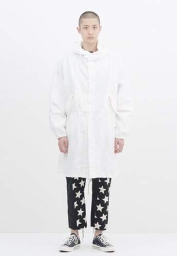 Gakuro가쿠로 Snow Parka (White)