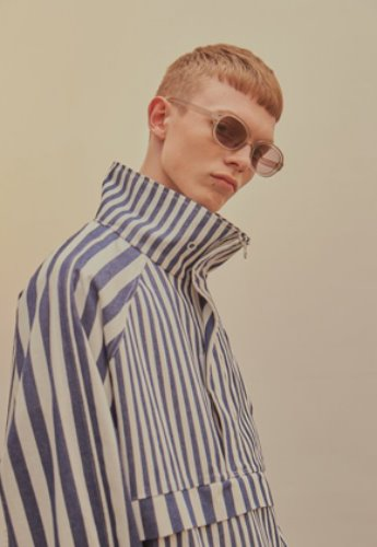 INNER CITY AUDIO이너시티오디오 (FAMILY EVENT) BOLD STRIPE ANORAK
