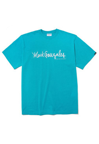 Markgonzales마크곤잘레스 M/G SIGN LOGO T-SHIRTS MINT