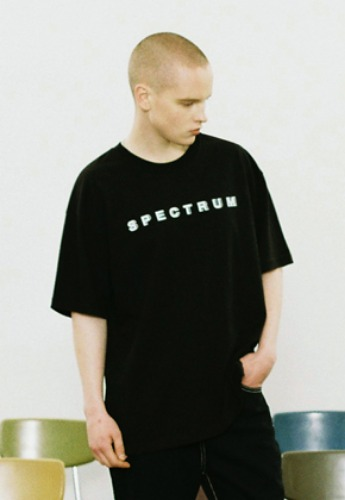 Voiebit브아빗 V359 SPECTRUM T-SHIRT  BLACK