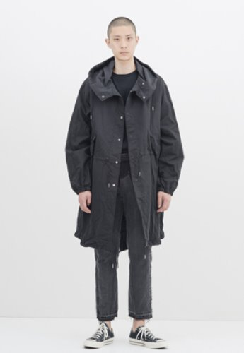 Gakuro가쿠로 Snow Parka (Black)