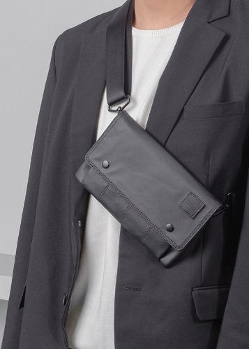 Ordinauty오디너티 (5월 3일 예약배송) DAY-OUT BLACK (Wallet x pouch x clutch x cross)