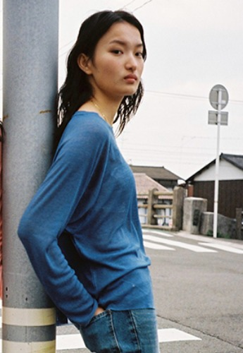 Vuiel뷔엘 BASIC LONG SLEEVE JUMPER _ BLUE