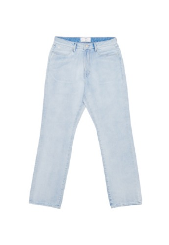 LLUD러드 (LLUD x LAB101) Light blue denim pants