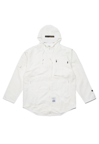 Stigma스티그마 STGM TECH WINDBREAKER JACKET WHITE