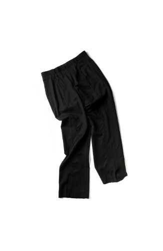 Double:L더블엘 RAW CUT HORIZONTAL STITCH PANTS