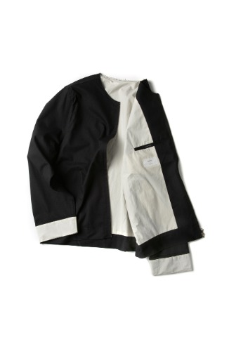 Double:L더블엘 VINTAGE TURN UP ZIP JACKET
