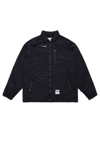 Stigma스티그마 STGM TECH OVERSIZED COACH JACKET BLACK