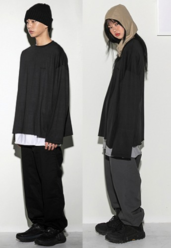 Flare up플레어업 [FLARE UP] over long sleeve BK (FU-111)