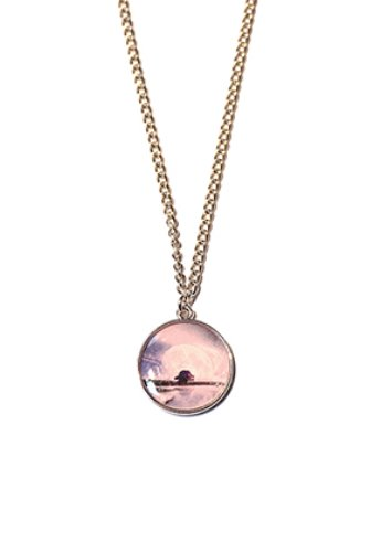 HA-WHA하와 Pink paradise necklace