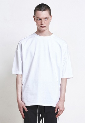 D.prique디프리크 [박서준 착용] Oversized Basic T-shirt White