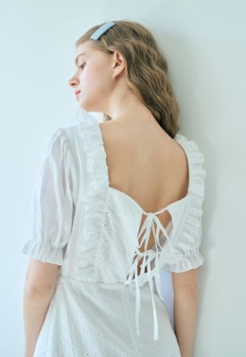 Margarin Fingers마가린핑거스 (당일출고) Broderie anglaise one piece