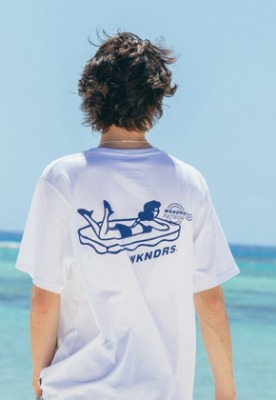 WKNDRS위캔더스 FATHOM GIRL TEE (WHITE)