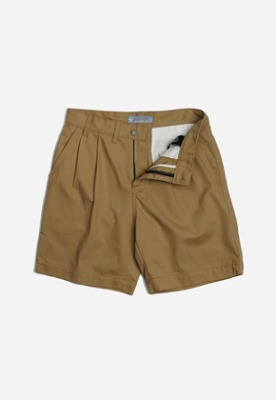 FRIZMWORKS프리즘웍스 Two tuck wide shorts _ beige