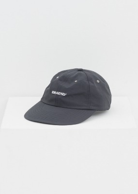 IDEAEND아이디어앤드 Logo Cap - Supplex (Black)