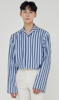 Trip LE Sens트립르센스 TLS STRIPE SHIRTS 1922 BLUE
