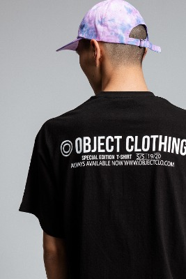 Object오브젝트 THINGS T-SHIRT (BLACK)