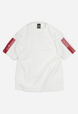 FRIZMWORKS프리즘웍스 Bandana sleeve tee _ red