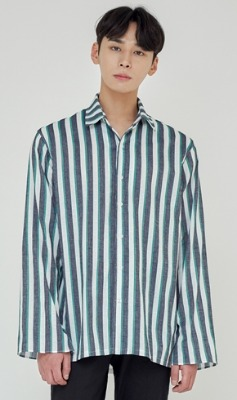 Trip LE Sens트립르센스 TLS STRIPE SHIRTS 1927 GREEN
