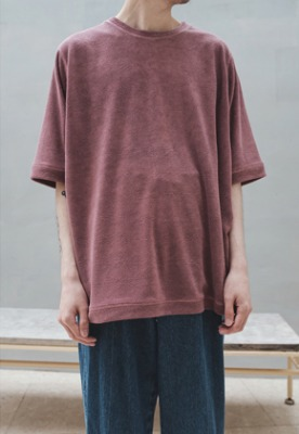 Ooparts오파츠 Terry T-shirts Pink