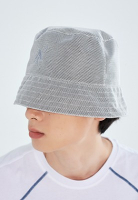 LLUD러드 (LLUD x Afterpray) Bucket Hat Gray