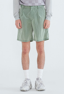 LLUD러드 (LLUD x Afterpray) Watro Shorts Lime green
