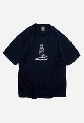 FRIZMWORKS프리즘웍스 Nature base camp tee _ navy