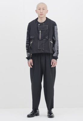 Gakuro가쿠로 Sapok Pants - Wool (Black)
