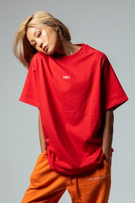 Object오브젝트 THINGS T-SHIRT (RED)