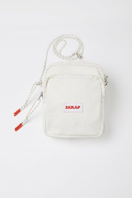 SKRAP스크랩 [SKRAP] DENIM small bag Off white